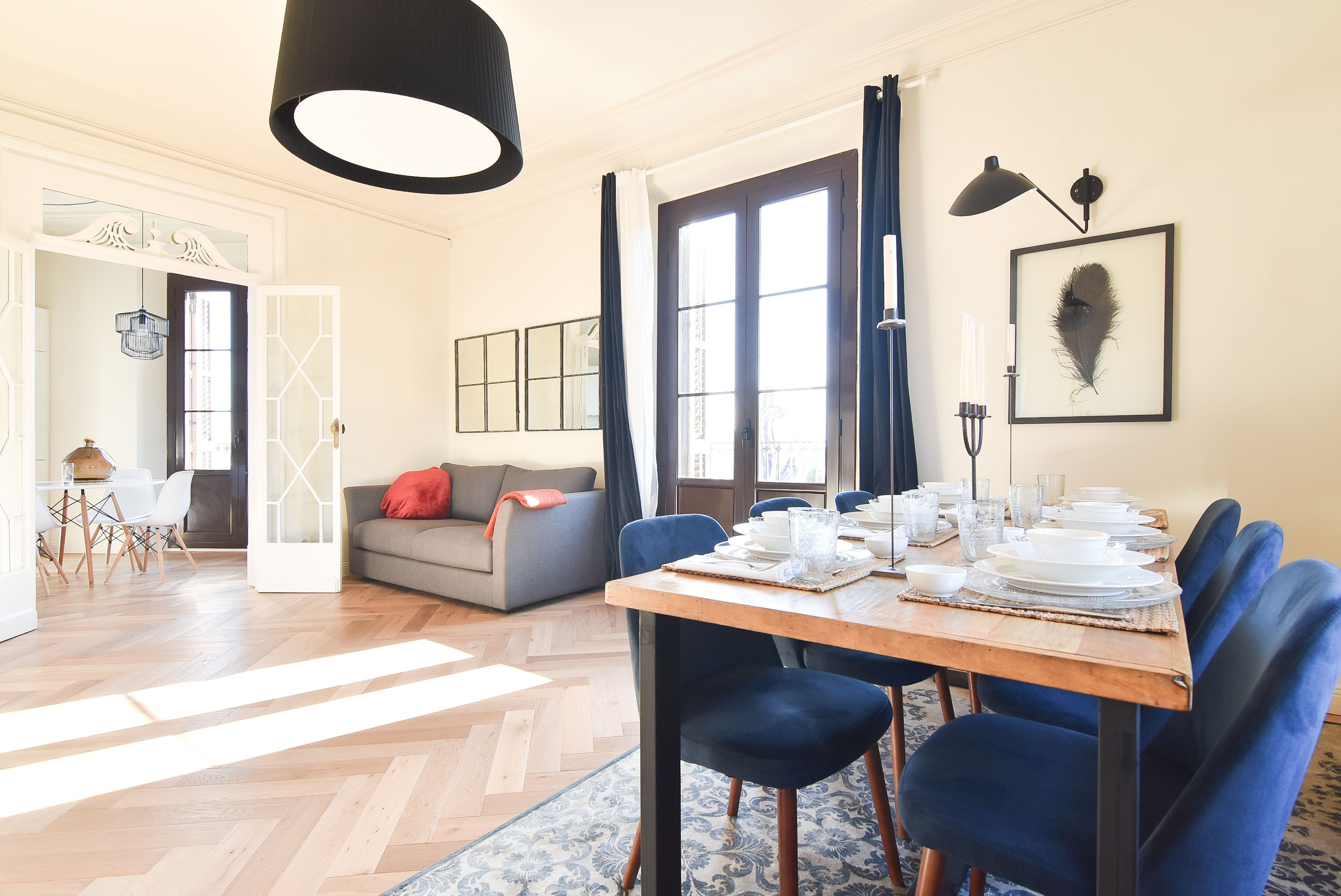 4. Salon Comedor - Living and Dining room | 1840 Apartments