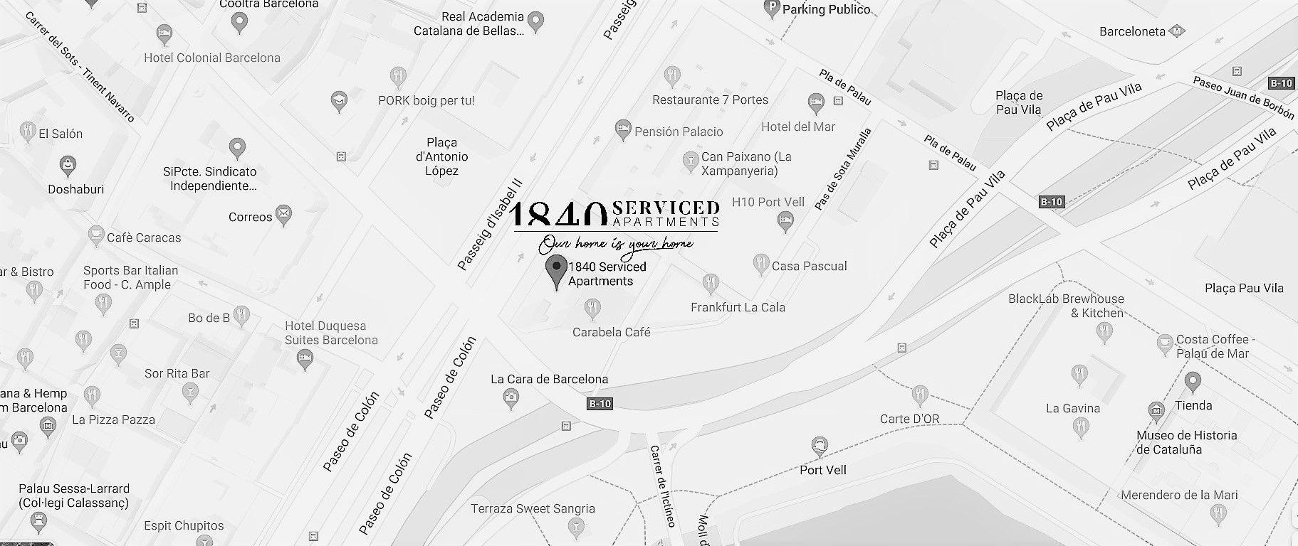 CONTACT US | 1840 Apartments